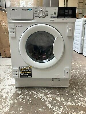 £420 • Buy Zanussi Z816WT85BI Integrated 8Kg/4Kg Washer Dryer 1600 Rpm E Rated #RW23672
