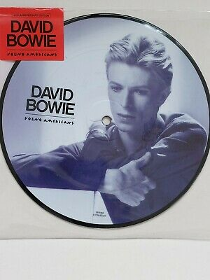 £29.99 • Buy David Bowie Young Americans 7 Inch 40th Aniversary Picture Disc - Played Once