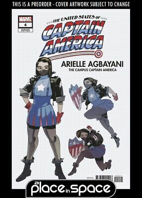 £4.55 • Buy (wk38) United States Of Captain America #4b - Design Variant - Preorder Sep 22nd