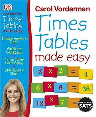 £12.87 • Buy Times Tables Made Easy By Carol Vorderman (2020) New Book