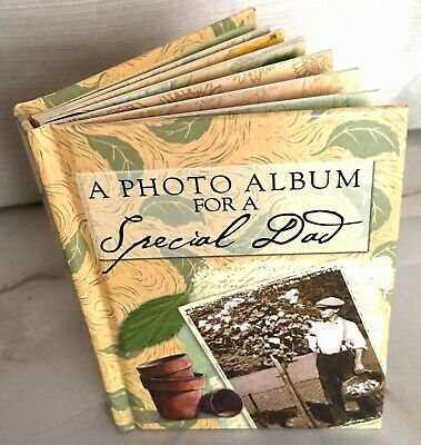£5 • Buy Photo Album Of Memories Mini Photos Images Quotes Dad Love Family Special Father