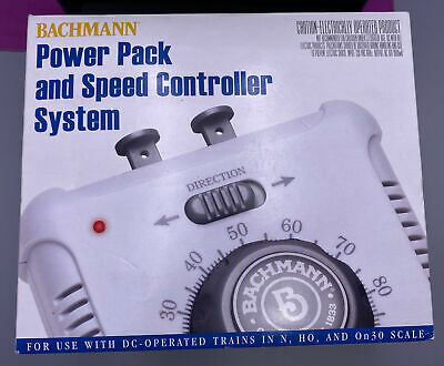 £29.31 • Buy Bachmann 44212 Power Pack And Speed Controller System