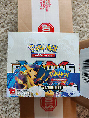 $850 • Buy Pokemon XY Evolutions Booster Box TCG 36 Pack From Sealed Case Genuine Authentic