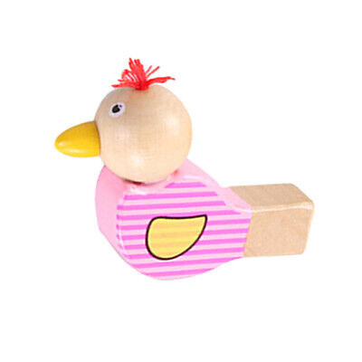 £3.60 • Buy Wooden Cartoon Bird Whistle Colorful Creative Whistle Musical Toy Early E