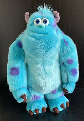 """£11.99 • Buy Disney Store Monsters Inc Sully 15"""" Plush Large Soft Toy Teddy Stamped"""