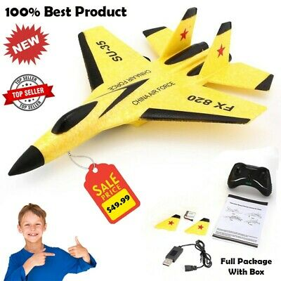 £36.17 • Buy Rc Plane Fighter Jet Remote Control Airplane Aeroplane Aircraft Outdoor Drone