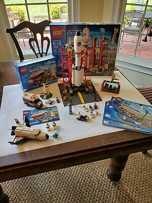 £52.64 • Buy Lego 3366 3368 60078 City Lot 3 Complete Space Sets With All Minifigures &poster