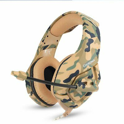 AU19.99 • Buy Gaming Headset Mic K1 Stereo Bass Surround Headphone For PC Laptop Game PS4 Xbox