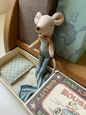 £24.99 • Buy Maileg Little Brother Mouse Matchbox Retired 2019