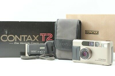$ CDN1384.72 • Buy [Mint In Box] CONTAX T2 35mm Point And Shoot Film Camera From Japan #160