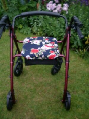 £6.95 • Buy Seat Cover ~ Four Wheeled Mobility Walker Stroller