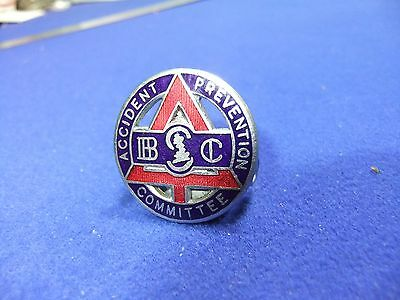 £9.60 • Buy Badge Transport Road Safety Accident Prevention Committee Bsc Cap Driver