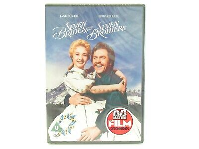 £2.99 • Buy Seven Brides For Seven Brothers DVD 1954 Brand New Musical Romance Jane Powell