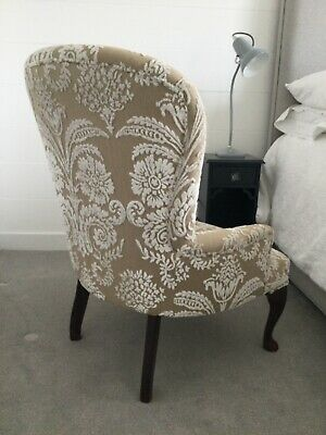£149.99 • Buy Antique Bedroom Chair Upholstered In Designers Guild Fabric