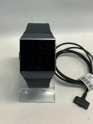 $ CDN88.09 • Buy Fitbit Ionic Smartwatch, Charcoal Band W/ Graphite Gray Case (tdw012261)
