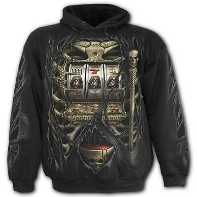 £25 • Buy Spiral Gothic Jackpot Of Death Reaper Hoodie Hoody Mens Small