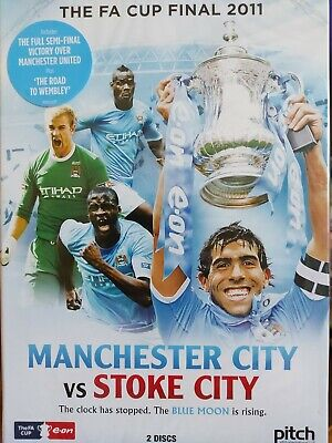 £11.63 • Buy The FA Cup Final 2011 Manchester City V Stoke City DVD 2 Disc * FREE UK  P & P *