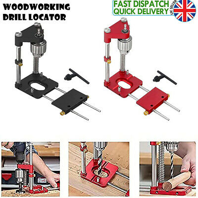 £26.36 • Buy 1x Woodworking Drill Locator Adjustable Punch Locator Drill Template Guide Tool