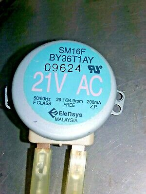 £14.54 • Buy Microwave Synchronous Motor SM16FBY36T1AY  120V F CLASS 34.9rpm 3W #382