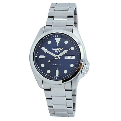 $ CDN232.89 • Buy Seiko 5 Sports Automatic Blue Dial Stainless Steel Men's Watch SRPE53