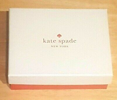 $ CDN8.88 • Buy  Kate Spade Gift Jewelry Wallet Box Small 4.5  X 5.5  X 1.75  White Red New