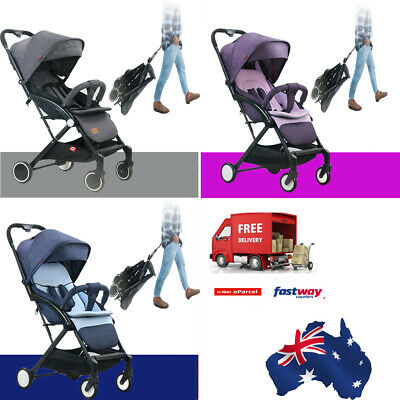 AU79.89 • Buy Compact Lightweight Baby Travel Stroller Pram Buggy Pushchair One Hand Foldable