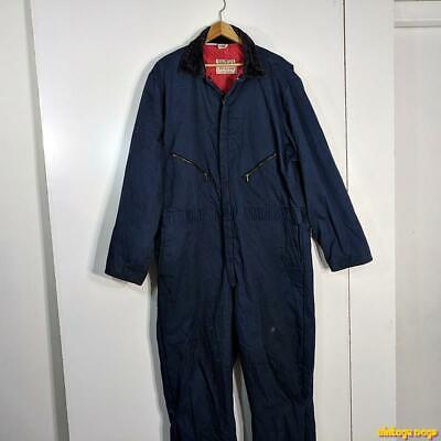 $39.99 • Buy WALLS Blizzard-Pruf Workwear Cotton Work Coveralls Mens 2XLT 2XL Blue  Insulated