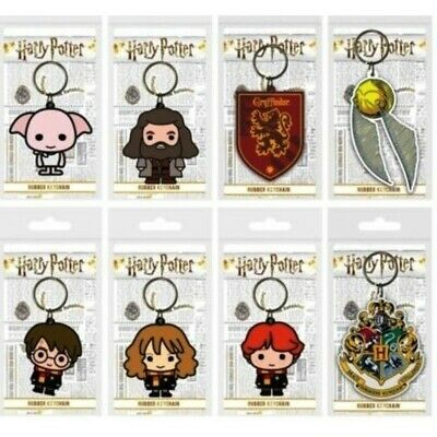 £1.25 • Buy Official Harry Potter Character Figure Keyring/ Keychain Collectible - 8 Styles!