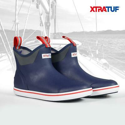 £52.99 • Buy XTRATUF Men's Navy/Red Ankle Deck Sailing Boot 22733