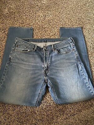 $9.99 • Buy Levis Stretch 541 Distressed Blue Jeans Mens 38x34