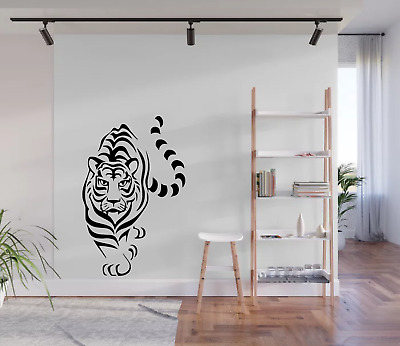 £8.98 • Buy Prowling Tiger Wall Art Sticker Decal Home Decor A71