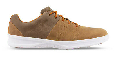 $89.95 • Buy FootJoy Contour Casual Golf Shoes Spikeless Men's 54057 Brown New
