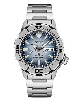 $ CDN563.96 • Buy Seiko SRPG57 Monster Penguin Blue Dial Automatic Watch 200 Meter Made In Japan