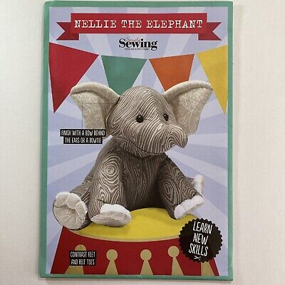 £10.50 • Buy Simply Sewing Elephant Soft Toy Craft Gift Baby Child Nellie New Uncut Pattern