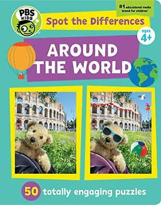 £10.37 • Buy Spot The Differences: Around The World: 50 Totally Engaging Puzzles By PBS Kids