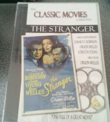 £1.99 • Buy The Stranger*dvd*edward G Robinson*classic Film*rated Pg*new And Sealed