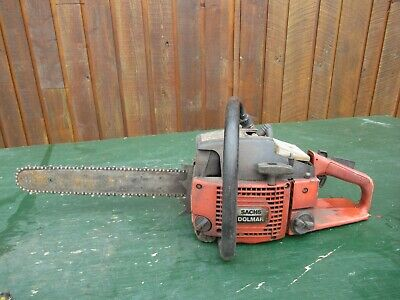 £72.75 • Buy Vintage SACHS DOLMAR Chainsaw Chain Saw With 14  Bar With Log Spike
