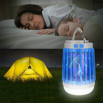 £10.79 • Buy Mosquito Lamp Electric UV Light Fly Bug Zapper Insect Killer LED Light Outsunny