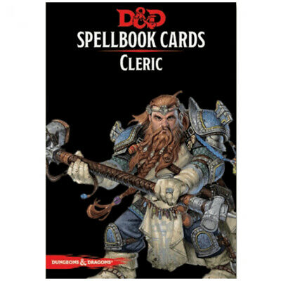 AU35.95 • Buy D&D Spellbook Cards Cleric Revised - Dungeons And Dragons