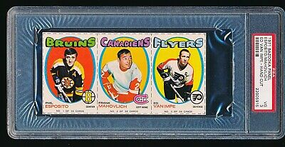 $1900 • Buy 1971 Bazooka Panel PHIL ESPOSITO FRANK MAHOVLICH PSA 3 - Only Two Ever Graded