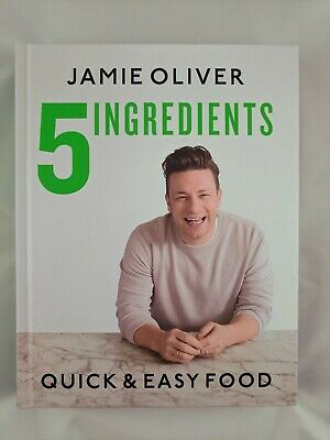 AU26 • Buy 5 Ingredients Quick & Easy Food By Jamie Oliver Hardcover 2017 Free Shipping