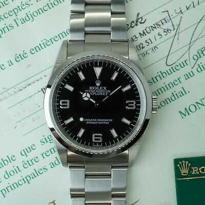 $ CDN10511.40 • Buy 🔥Rolex Explorer I Ref. 14270  Swiss Only  With Box, Papers, & Hangtag