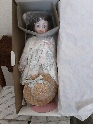 $ CDN12.48 • Buy Princess House Porcelain Collector Doll - Jennifer - New In Bos