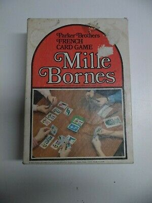 $15.99 • Buy Mille Bornes Parker Brothers French Card Game 1971- 100% Complete