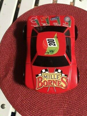 $9.99 • Buy Mille Bornes The Classic Racing Game Cards In Race Car Tin