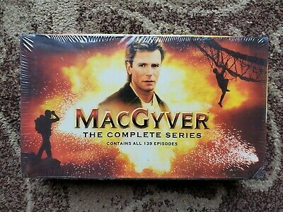 $61 • Buy MacGyver - The Complete (Oiginal) Series (DVD, 2007, Complete 139-Episode Set)