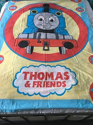 £13 • Buy Thomas The Tank Engine Duvet Cover Vintage Reversible Single With Pillowcase