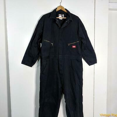 $34.99 • Buy DICKIES Workwear L/S Cotton Work Coveralls Jumpsuit Mens Size 2XL Deep Blue