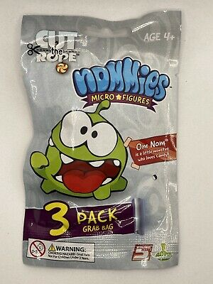 £1.35 • Buy Nommies Micro Figures Cut The Rope Blind Bags New And Sealed 3 Figures Per Bag