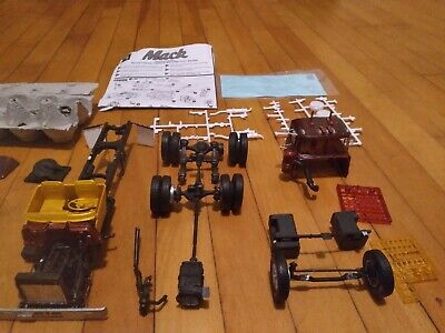$10 • Buy AMT Mack Truck Junkyard Lot, Extra Parts,instructions And Decals Included.